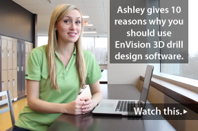 Top 10 Reasons to Use EnVision 3D Marching Drill Design Software