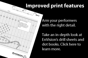 Overview of drill sheets and dot books for EnVision