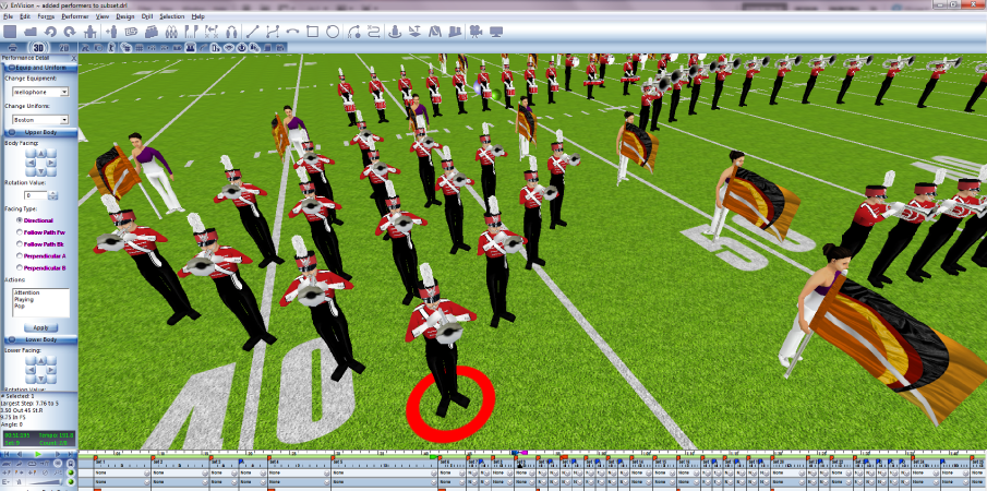Marching Band Drill Design Software Free Download